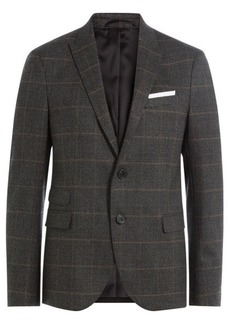 Neil Barrett Printed Virgin Wool Blazer