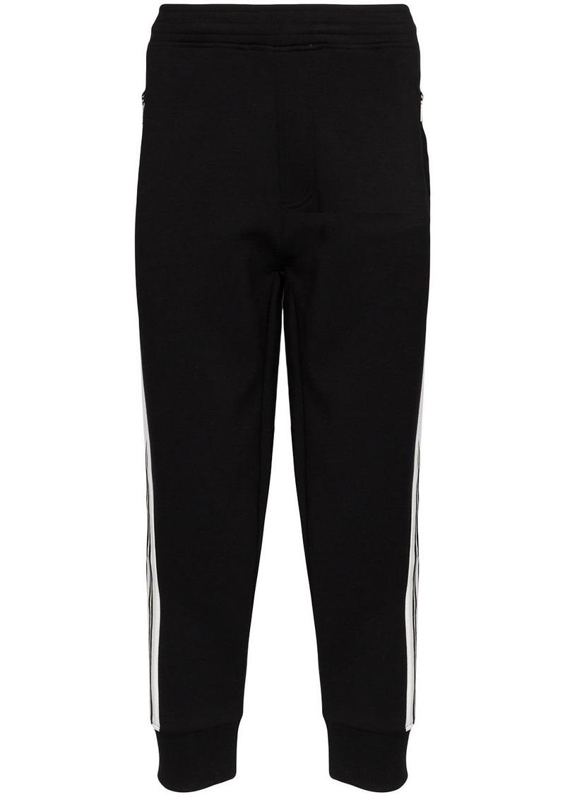 Neil Barrett side stripe track trousers