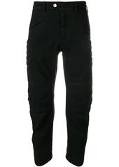Neil Barrett slim panelled trousers