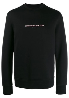 Neil Barrett Snowboarder Zeus sweatshirt