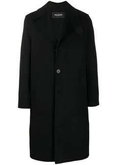 Neil Barrett strap detail overcoat