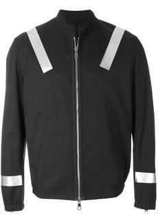 Neil Barrett stripe-detail bomber jacket