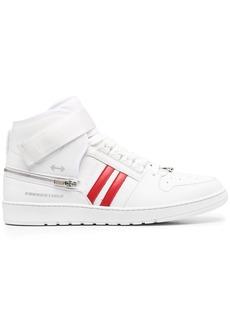 Neil Barrett stripe-detail high-top sneakers