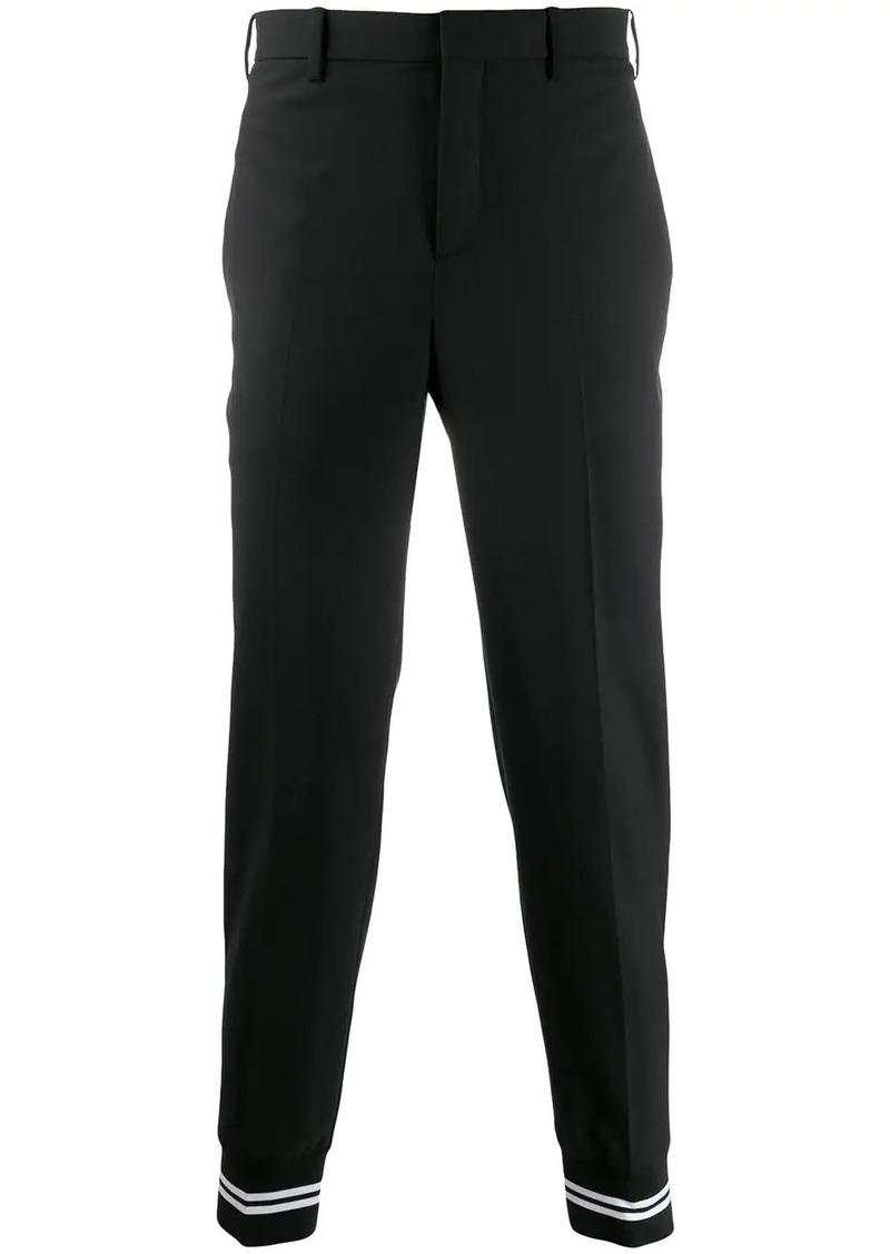 Neil Barrett stripe detail trousers
