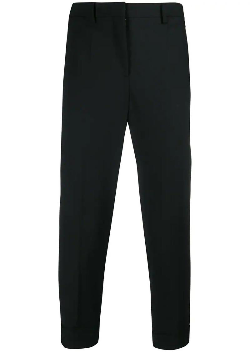 Neil Barrett striped cuff tailored trousers