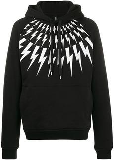 Neil Barrett thunder bolt hoodie