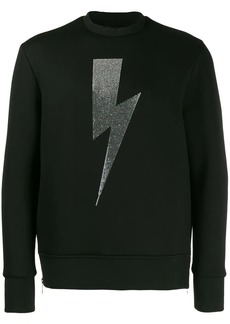 Neil Barrett thunderbolt sweatshirt