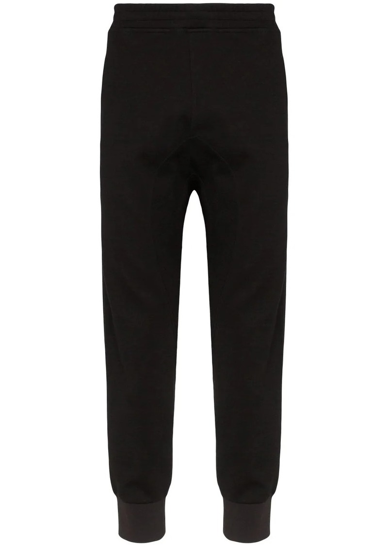 Neil Barrett tuxedo stripe track trousers