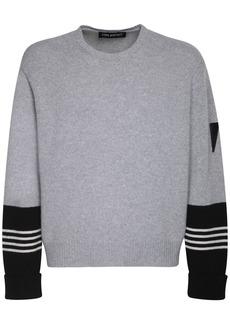 Neil Barrett Wool & Cashmere Knit Sweater
