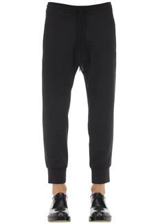 Neil Barrett Wool Blend Gabardine Jogging Pants
