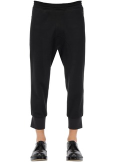 Neil Barrett Wool Blend Jersey Sweatpants