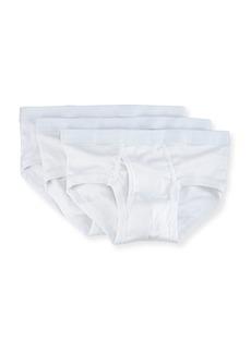 Neiman Marcus 3-Pack Mercerized Cotton Briefs