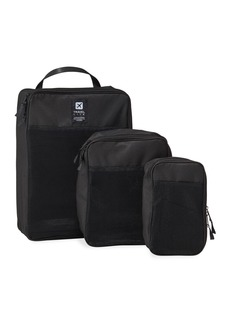 Neiman Marcus 3-Piece Nylon Collapsible Packing Set