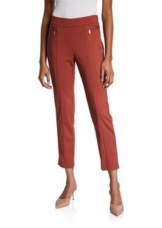 Neiman Marcus Ankle Slit Pants