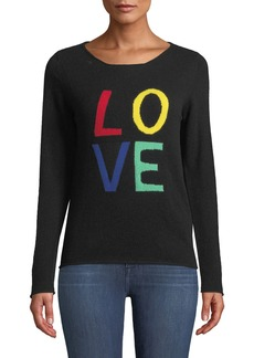 Neiman Marcus Cashmere LOVE Pullover Sweater