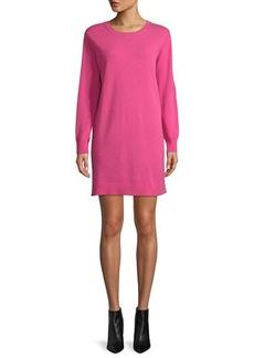 Neiman Marcus Cashmere Sweatshirt Dress