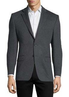 Neiman Marcus Cashmere Two-Button Blazer