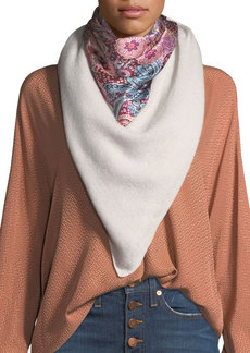Neiman Marcus Cashmere/Silk Component Scarf