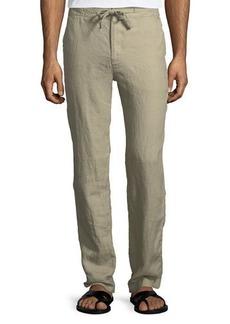 Neiman Marcus Casual Linen Pants