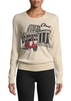 Neiman Marcus Ciao! Rome Cashmere Pullover Sweater