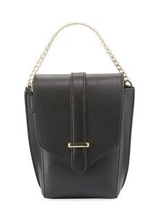 Neiman Marcus Darcy Small Crossbody Saddle Bag