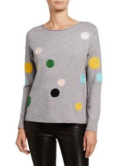 Neiman Marcus Dot Key Item Sweater