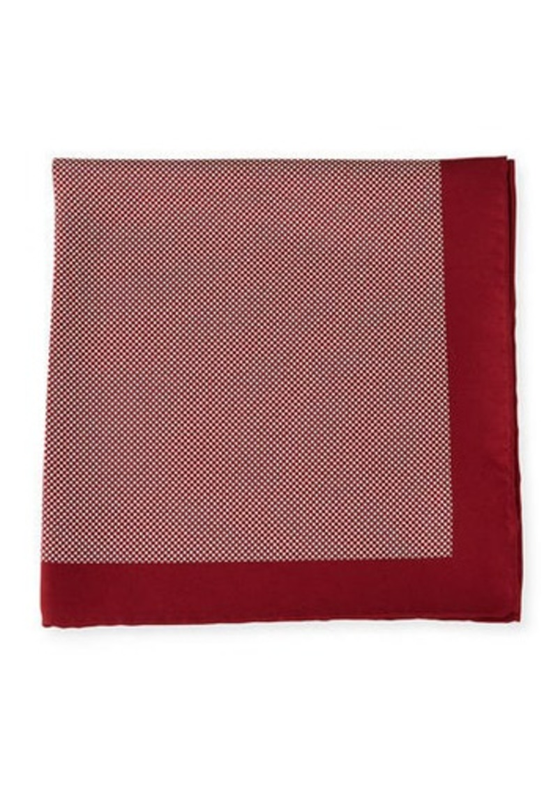 Neiman Marcus Dot Pocket Square