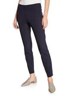 Neiman Marcus Emory High-Waist Gramercy Stretch Pants