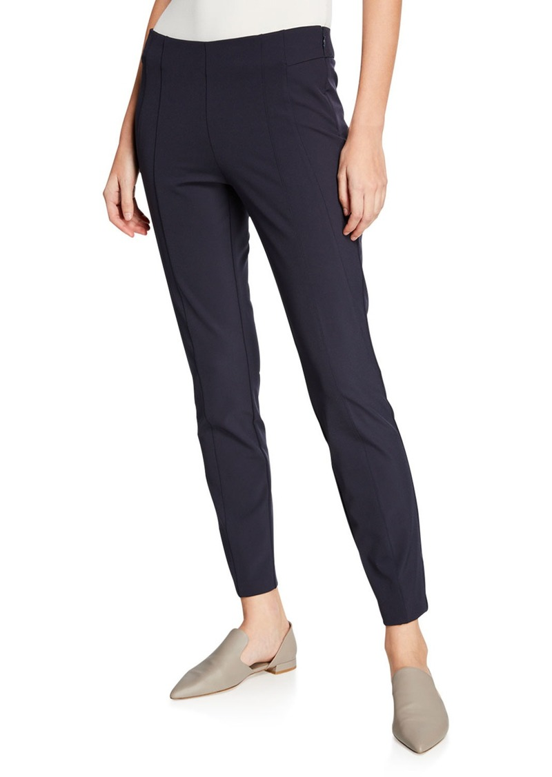 Neiman Marcus Emory High-Waist Gramercy Stretch Pants