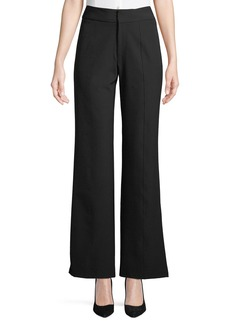 Neiman Marcus Fabianne Seamed Boot-Cut Pants