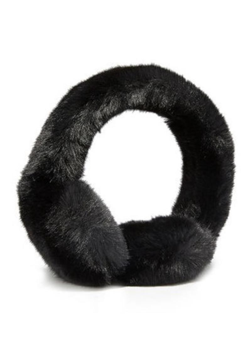 Neiman Marcus Faux Fur Earmuffs