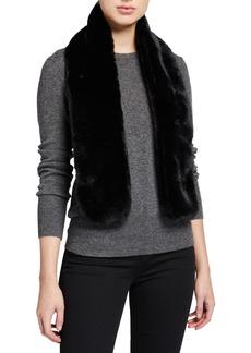 Neiman Marcus Faux Fur Scarf