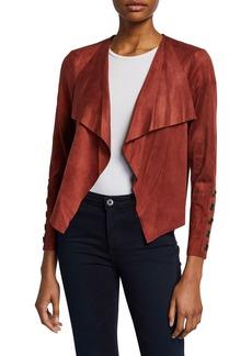 Neiman Marcus Faux Suede Jacket