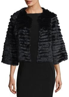 Neiman Marcus Fur Topper Jacket Jacket