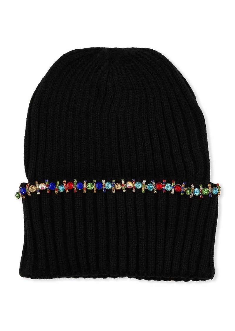 Neiman Marcus Jeweled Beanie