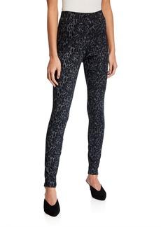 Neiman Marcus Leopard Print Leggings