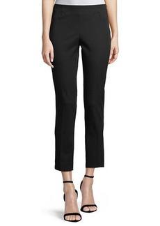 Lisa Side-Zip Ankle Pants