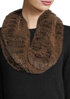 Neiman Marcus Luxury Rabbit Fur Snood