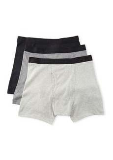 Neiman Marcus Men's 3-Pack Cotton Boxer Briefs