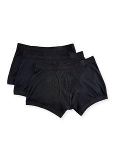 Neiman Marcus Men's 3-Pack Cotton Trunks