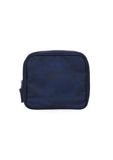 Neiman Marcus Men's Camo Nylon Toiletry Bag