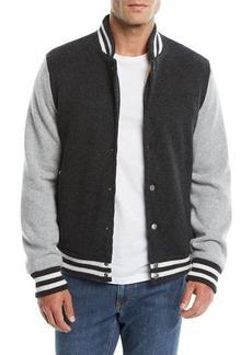 25f075deb5a Neiman Marcus Men s Cashmere Baseball Jacket