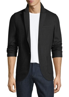 Neiman Marcus Men's Casual Notched-Lapel Blazer Jacket