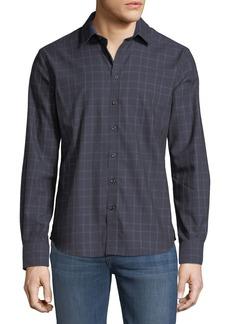 Neiman Marcus Men's Check Sport-Shirt