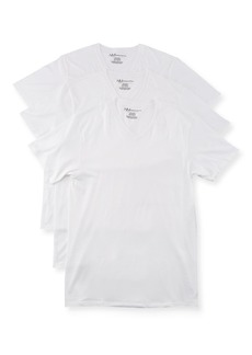 Neiman Marcus Men's Cotton V-Neck T-Shirt  3-Pack