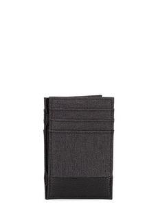 Neiman Marcus Men's Faux-Leather Magic Wallet