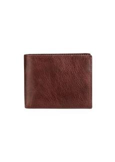 Neiman Marcus Men's Glazed Leather Bifold Wallet