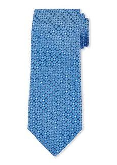 Neiman Marcus Men's Grid Silk Tie