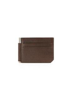 Neiman Marcus Men's Leather Bill-Clip Wallet
