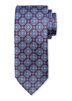Neiman Marcus Men's Medallion Silk Tie